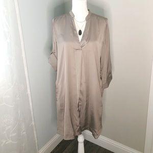 Ming silk tunic dress